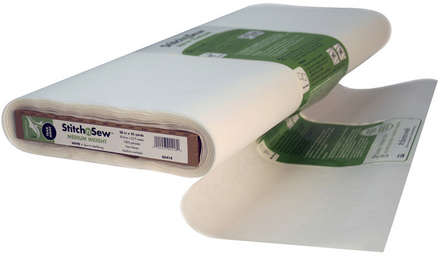 StitchnSew Non-Woven Tear-Away Medium Weight (White 20 in. x By The Yard) picture