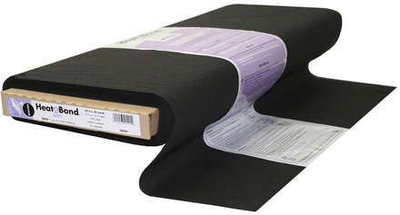 HeatnBond Woven Fusible Soft (Black 22 in. x By The Yard) picture