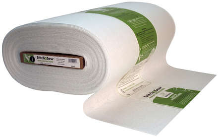 StitchnSew Non-Woven Craft Sew-In Firm (White 20 in. x By The Yard) picture