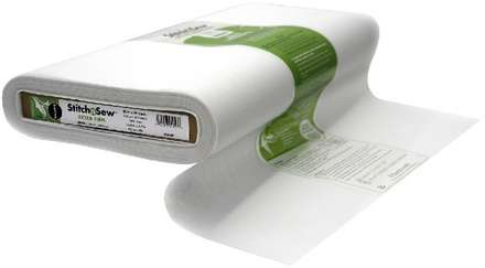 StitchnSew Woven Sew-In Extra Firm (White 20 in. x By The Yard) picture
