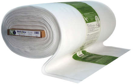 StitchnSew Fleece Sew-In High Loft (White 45 in. d/f x By The Yard) picture