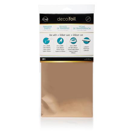 Deco Foil™ Transfer Sheets Value Pack • Rose Gold picture