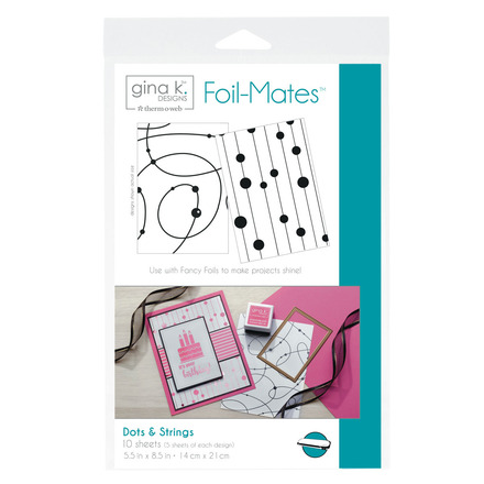 Gina K. Designs Foil-Mates™ Backgrounds • Dots & Strings picture