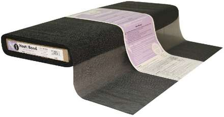 HeatnBond Tricot Fusible Sheer Weight (Black 20 in. x By The Yard) picture