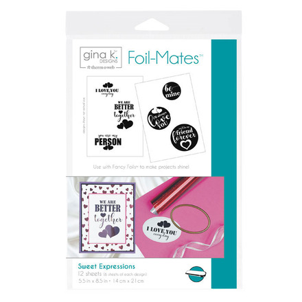 Gina K. Designs Foil-Mates™ Sentiments • Sweet Expressions picture