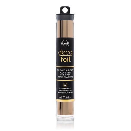 Deco Foil™ Transfer Sheets • Rose Gold picture