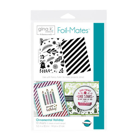 Gina K. Designs Foil-Mates™ Backgrounds • Ornamental Holiday picture