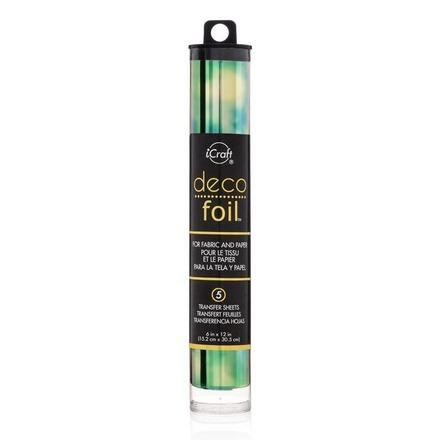 Deco Foil™ Transfer Sheets • Emerald Watercolor picture
