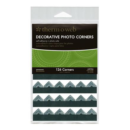 Decorative Photo Corners • Silver picture
