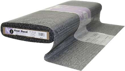 HeatnBond Weft Fusible Medium Weight (Black 23 in. x By The Yard) picture