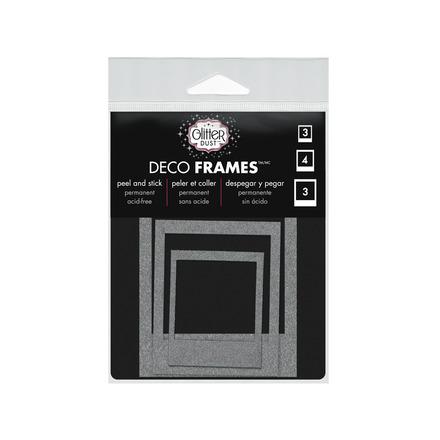 Glitter Dust™ Polaroid Frame Assortment-Silver picture