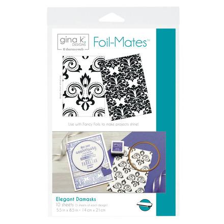 Gina K. Designs Foil-Mates™ Backgrounds • Elegant Damasks picture