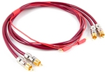 SYMPHONY Tone Arm Cable with Chrome RCA Plugs