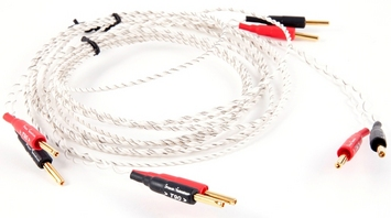 T90 DIVA Solid Core Silver Plated Speaker Cable - Terminated Pair picture
