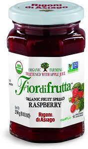 Rigoni Di Asiago Fiordifrutta Organic Fruit Spread, Raspberry, 8.82 Ounce picture