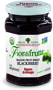 Rigoni Di Asiago Fiordifrutta Organic Fruit Spread, Blackberry, 8.82 Ounce picture