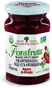 Rigoni Di Asiago Fiordifrutta Organic Fruit Spread, Strawberry, 8.82 Ounce picture