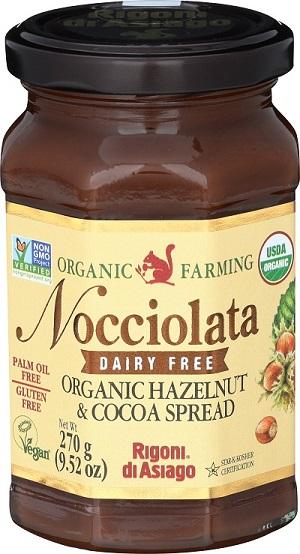 Rigoni Di Asiago Nocciolata DAIRY FREE Organic Hazelnut Spread, 9.52 Ounce Jar picture