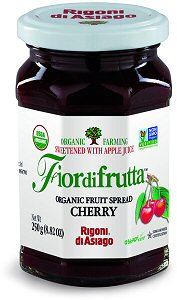 Rigoni Di Asiago Fiordifrutta Organic Fruit Spread, Cherry, 8.82 Ounce picture