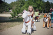 Smart Gear Unicorn PonyCycle  White Small (3-6 Years) additional picture 1