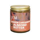JEM - USDA Certified Organic Cashew Cardamom Almond Butter Spread, Vegan, NON-GMO, 6 oz