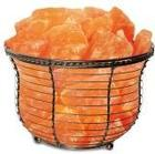 WBM 1301B HIMALAYAN SALT BASKET LAMP
