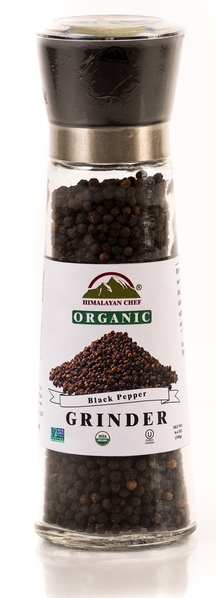 Himalayan Chef Black Pepper Grinder, 6.4 Ounce picture