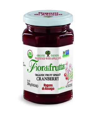 Rigoni Di Asiago Fiordifrutta Organic Fruit Spread, Cranberry, 8.82 Ounce picture