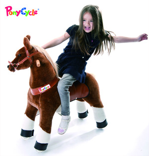 Smart Gear Horse PonyCycle  Brown Medium (4-9 Years) picture