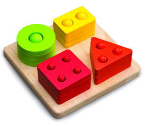 COUNTING SHAPE SORTER picture