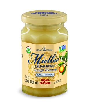 Rigoni Di Asiago Mielbio Organic Italian Orange Blossom Raw and Creamy Honey, 10.58 Ounce picture