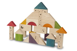 Natural Wooden Blocks picture