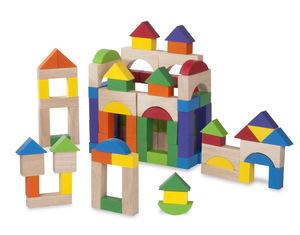 100 Piece Block Set picture