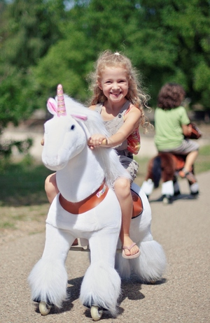 Smart Gear Unicorn PonyCycle  White Medium (4-9 Years) picture
