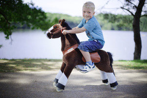 Smart Gear Horse PonyCycle  Chocolate Small (3-6 Years) picture