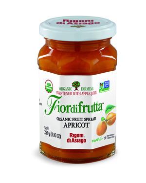 Rigoni Di Asiago Fiordifrutta Organic Fruit Spread, Apricot, 8.82 Ounce picture