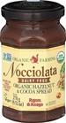Rigoni Di Asiago Nocciolata DAIRY FREE Organic Hazelnut Spread, 9.52 Ounce Jar