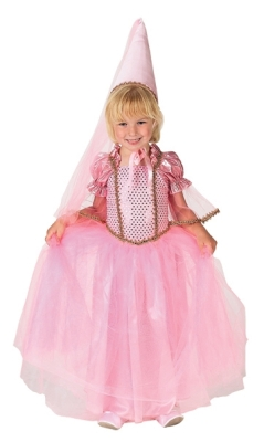 Princess Dress with Hat, Child Sizes (pink) picture