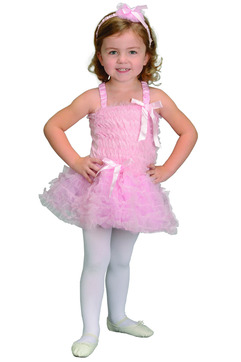 Ballerina Dress w/ Ruffles, Pink picture