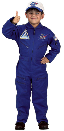 Jr. Flight Suit with Embroidered Cap, Child Sizes picture