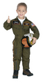 Jr. Armed Forces Pilot Suit with Helmet, Child Sizes