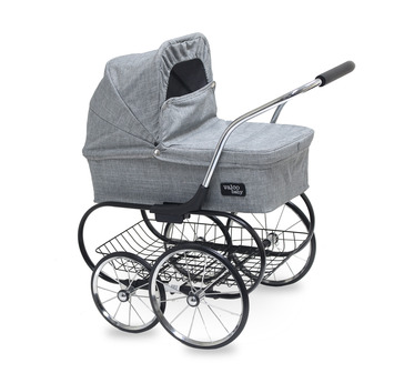 Royale Doll Stroller Grey Marle picture