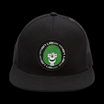 Skull-It Trucker - Black, OSFM picture