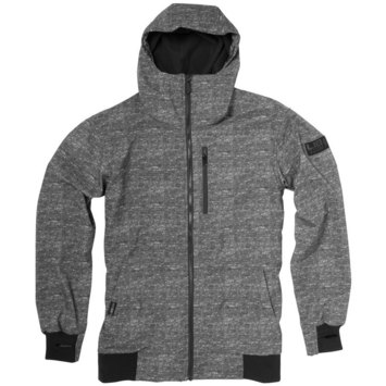 Lib Softshell Riding Jacket - Charcoal Heather - S picture