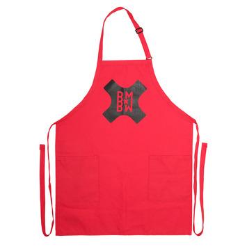 Chop Shop Apron - Red picture