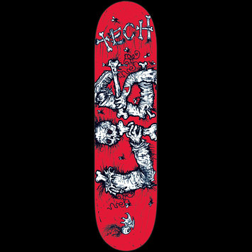 "Dismembered Red - 7.875"" x 31.5"" x 14"" picture"