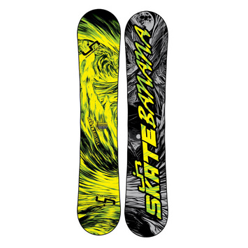 Skate Banana 145N BTX - Yellow / Green picture
