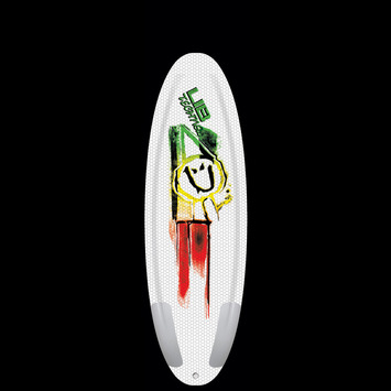 "Ramp Series, Ryan Davis - Poly Rasta, 5' 7"" picture"
