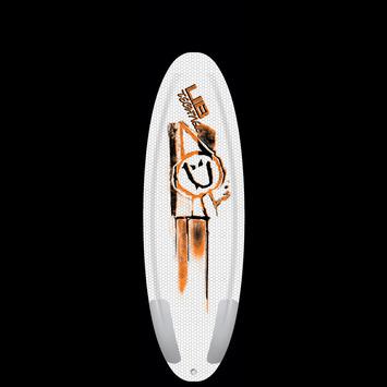 """Ramp Series, Ryan Davis - Poly Orange, 5' 4"""" picture"""