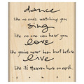 dance, sing, love...